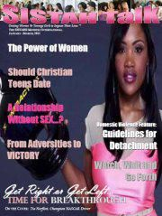LOOKING FOR CONTRIBUTING WRITERS for SISTAH Talk E-Magazine...! | DEADLINE: Friday, May 4, 2012 | We are looking to address all areas of: * ~ A SISTAH's Lifestyle (Life Coaching Principles); * ~ Living the Victorious & Blessed Life (Spirituality); * ~ Word on the Street (Relationships & Dating Principles); * ~ The SISTAH's Closet (Fashion); * ~ Domestic Violence & Abuse Issues; * ~ Virtuosity (Marriage & Divorce) | www.Facebook.com/SistahTalk