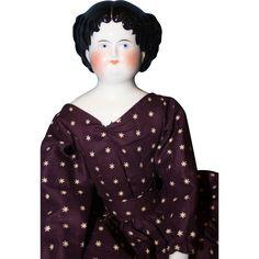 1860 China Doll Variation from sarabernsteindolls on Ruby Lane