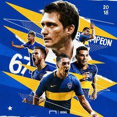 Boca Juniors. Bicampeón. 67 Titulos