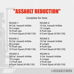 """559 Likes, 93 Comments - Assault Fitness (@assaultairbike) on Instagram: """"This week's challenge consists of 6 rounds of pain that are guaranteed to reduce you to a heaping…"""""""