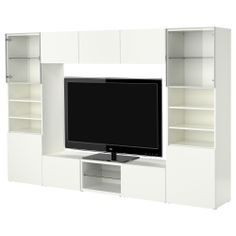 BESTÅ TV storage combination - white - IKEA