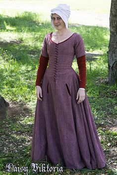 Pink Wool Kirtle | Faerie Queen Costuming