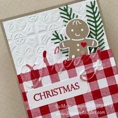 Gingerbread Cookie Cutter Christmas Box - Aromas and Art Homemade Christmas Cards, Christmas Bags, Homemade Cards, Handmade Christmas, Christmas Crafts, Diy Christmas Cards Cricut, Simple Christmas Cards, Christmas 2019, Xmas Cards