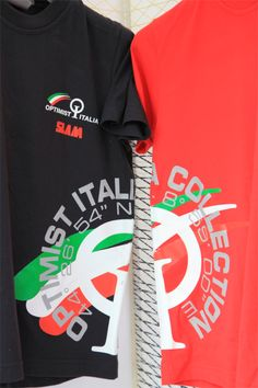 Optimist Italia Collection, t-shirt