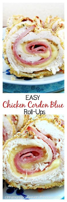 With layers of gooey Swiss cheese, salty ham and a crispy breadcrumb coating. cinnamonspiceandeverythingnice.com