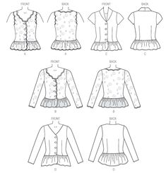 398 best patterns to purchase images clothes patterns clothing Oktoberfest Dirndl b6095 butterick patterns sewing patterns