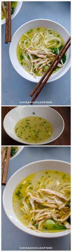Easy Chinese #Chicken #Noodle Soup