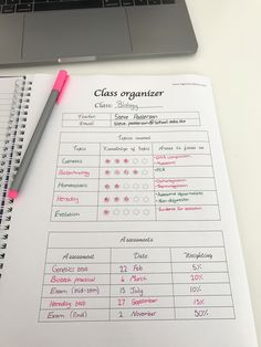 Study planners are a great way to keep track of your work! Find free study planners at Highschoolhints.com!!