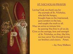 ~ Prayer of St. Catholic Kids, Catholic Prayers, Catholic Saints, St Nicholas Day, Prayers For Children, Christmas Quotes, Christmas Time, Christmas Ideas, O Holy Night