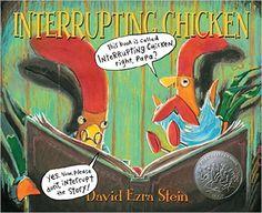 Interrupting Chicken: David Ezra Stein: 9780763689032: Amazon.com: Books