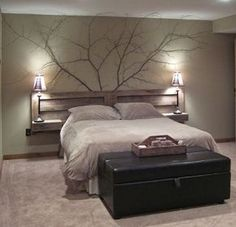 Headboard and branches!: