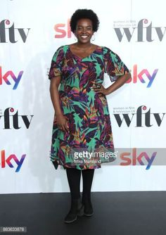 Wunmi Mosaku in annascholz dress at Women in Film and TV awards 2017 #actress #plussizecelebrity #plussizeactress #plussize #annascholz #plussizedress