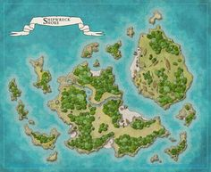 Click image for larger version. Name: Shipwreck Shore Small.jpg Views: 149 Size: MB ID: 106899 Fantasy Island, Fantasy Map, Dnd World Map, Dungeons And Dragons Game, Dungeon Maps, Island Map, Geek Gear, Map Design, Sea And Ocean