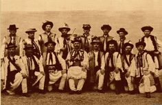 ruthenian people   This is a picture of Ruthenians or Ukrainian men