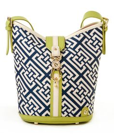 Look at this Spartina 449 Navy & White Haig Point Bucket Bag on #zulily today!