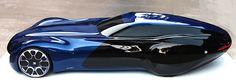 Bugatti Concert by Ding Zeng, via Behance