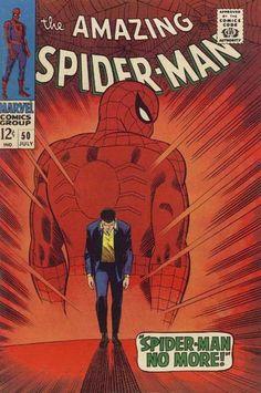 The Amazing Spider-man #51 (Spider-man no more).