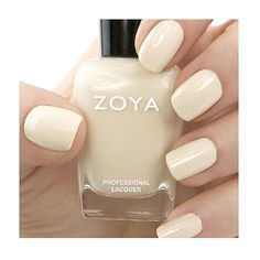 Zoya  Jacqueline // Nude Neutral Cream Nail Polish