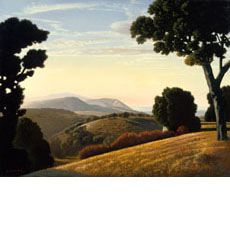 David Ligare. View of Corral de Tierra