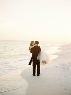 Photography : Lauren Kinsey Fine Art Wedding Photography Read More on SMP: http://www.stylemepretty.com/2014/09/02/elegant-beach-wedding-in-seaside-florida/