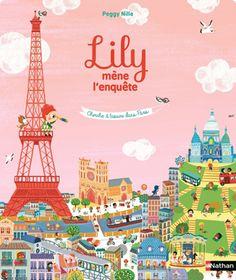 Lily mène l'enquête : Cherche et trouve dans Paris
