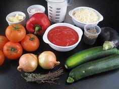 Lasagnes aux légumes - 1