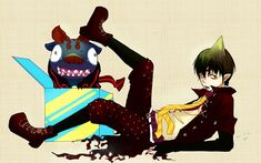 Ao no Exorcist (1200x750 559 kB.)