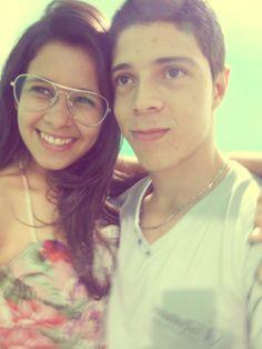 O meu sorriso é mais Feliz contigo...