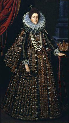 Maria Maddalena of Austria, Grand Duchess of Tuscany by Tiberio Titi, c. High Renaissance, Renaissance Fashion, Renaissance Portraits, Historical Costume, Historical Clothing, Galerie Des Offices, Maria Magdalena, Marie Madeleine, Royal Clothing