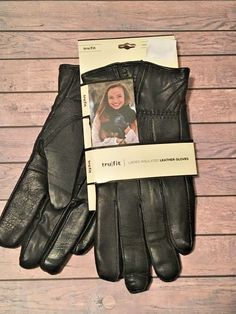 TruFit Mens /& Ladies Knit Driving Gloves Insulated Fleece Lined One Size Fit All