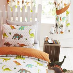 Prehistoric Dinosaurs Curtains 66 x 72 inch. Ready made curtains.