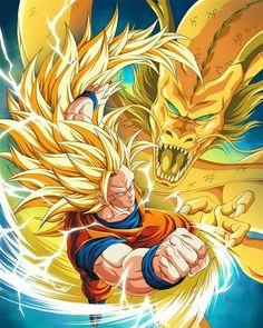 Isn't it cool? Dragon Ball Gt, Goku Ssj3, Fanarts Anime, Anime Comics, Animes Wallpapers, Anime Art, Digimon, Goku Wallpaper, Super Anime