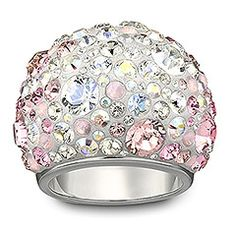 Who says diamonds are a girls best friend? (Well, okay, they are pretty and precious.) But crystal - specifically Swarovski crystal - is an equally sparkly and more colorfully diverse alternative. This cocktail ring is #pink exhibit A. Via Swarovski Crystal #SephoraColorWash