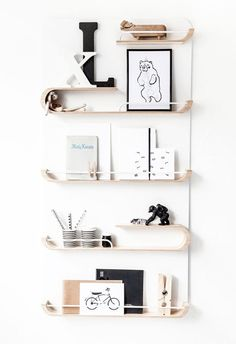 Rafa-Kids S Shelf is a multi-purpose shelving system and organizer for your child's favorite toys, or their collection of books and writing utensils.  http://vurni.com/s-shelf-rafa-kids-design/