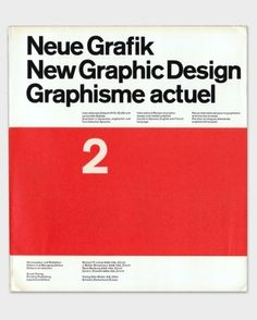 New Graphic Design. The magazine of the International Style.