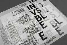 Actualité / Emanuel Cohen - Invsble / étapes: design & culture visuelle