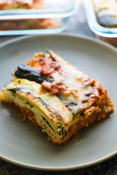 This turkey zucchini noodle lasagna is the perfect low carb meal prep lunch or dinner! Make it ahead and freeze for when those lasagna cravings hit you.