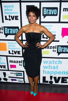 Angela Bassett. Look at her arms! Look!