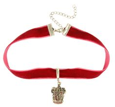 A velvet choker that's perfect for a Yule Ball.   33 Gifts For The Gryffindor In Your Life