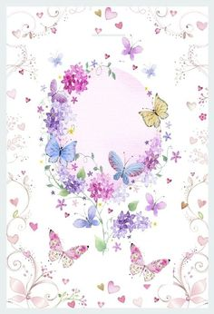 Butterfly Wallpaper, Butterfly Art, Pink Wallpaper, Butterflies, Cellphone Wallpaper, Iphone Wallpaper, Butterfly Pictures, Giant Paper Flowers, Cute Cartoon Wallpapers