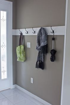 I would love to do this in the dining room/kitchen area off the garage entrance.