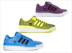 buy online 5f057 b4656 adidas Forum Low RS Grid Pack Madly In Love, Adidas Shoes, Grid, Trainers
