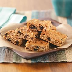 Chewy Granola Bars Recipe -For a satisfying snack that's both soft and crispy, try this recipe. These bars are a tempting, nutritious treat.—Virgina M Krites, Cridersville, Ohio