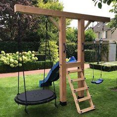 Backyard For Kids, Backyard Projects, Outdoor Projects, Backyard Patio, Backyard Landscaping, Patio Stone, Flagstone Patio, Concrete Patio, Patio Table