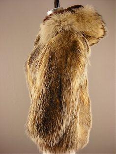 Genuine Wolf Fur Coat