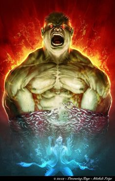 Hulk by Michele Frigo...