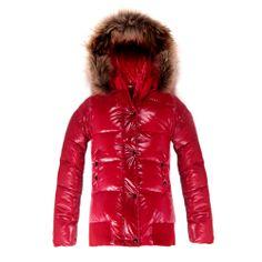 Moncler Donna Alpin Bomber Red Jacket Women Online Sale