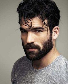 Male Beauty Regard Intense, Beard Boy, Great Beards, Moustaches, Handsome Faces, Handsome Man, Hommes Sexy, Hairy Men, Hot Bearded Men