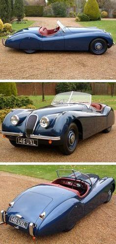 Visit The MACHINE Shop Café... ❤ Best of Jaguar @ MACHINE ❤ (The 1951 Jaguar XK120 Roadster)