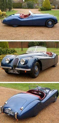 Visit The MACHINE Shop Café... ❤ Best of Jaguar @ MACHINE ❤ (The 1951 Jaguar XK120 Roadster)